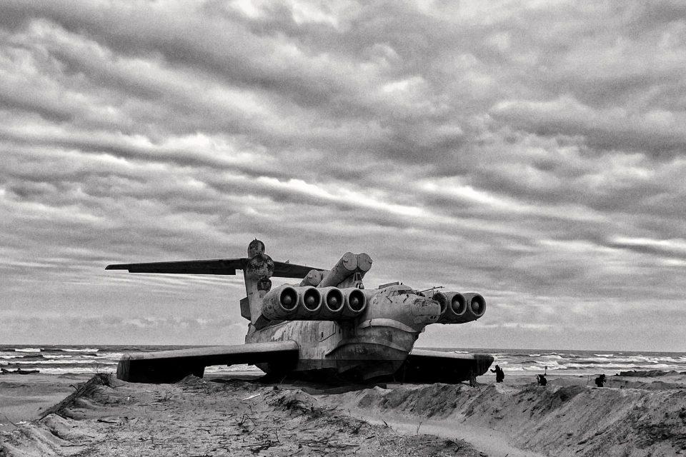 The Ekranoplane of Derbent, legend of the Caspian Sea